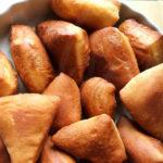 Coconut flavoured Kenyan Mahamri